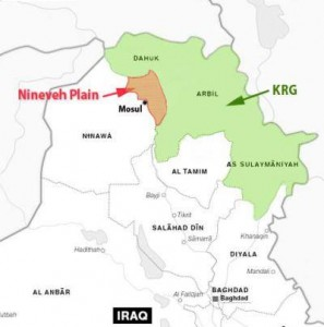 Mapof Iraq