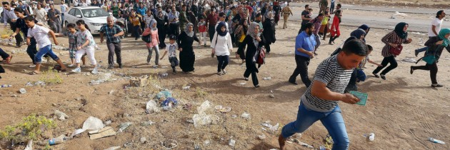 Iraqi Christians Forced Exodus from Mosul